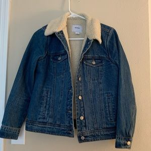 Sherpa Jean Jacket - Perfect Condition!